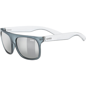 UVEX Sportstyle 511 Glasses Kids grey transparent/litemirror silver